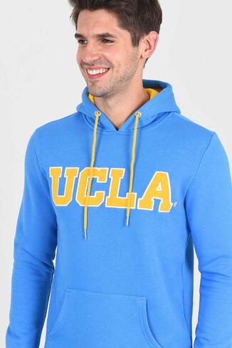UCLA - BRADLEY Mavi Kapüşonlu Erkek Sweatshirt (1)
