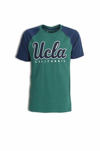CANYON Yeşil Bisiklet Yaka Erkek T-shirt - Thumbnail (4)