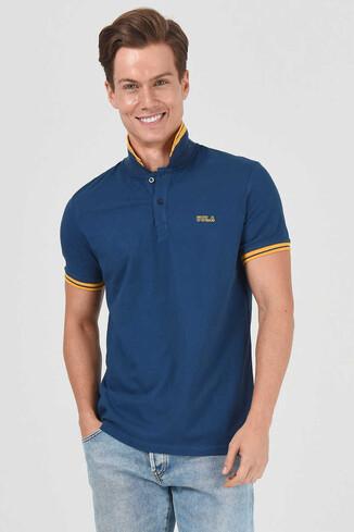 UCLA - HAMMER Lacivert Erkek Polo Yaka T-Shirt (1)
