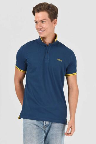 UCLA - HAMMER Lacivert Erkek Polo Yaka T-Shirt