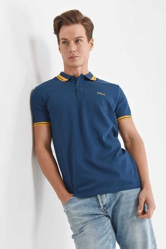 HAMMER Lacivert Erkek Polo Yaka T-Shirt - Thumbnail (3)