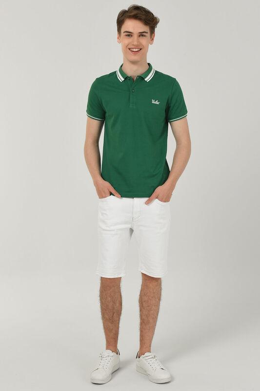 HAMMER Yeşil Polo Yaka Erkek T-shirt - Thumbnail