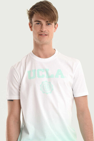 JULIAN Mint Bisiklet Yaka Erkek T-shirt - Thumbnail (3)