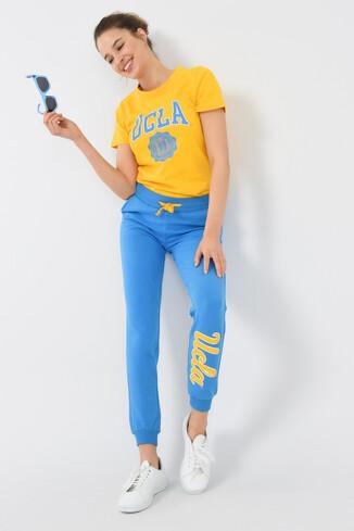 UCLA - MARINA Mavi Kadın Eşofman Altı