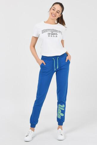 UCLA - MARINA Mavi Mint Kadın Eşofman Altı (1)
