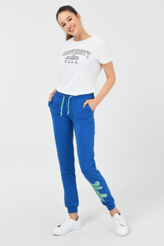 MARINA Mavi Mint Kadın Eşofman Altı - Thumbnail (2)