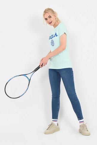 MOJAVE Mint Bisiklet Yaka Kadın T-shirt - Thumbnail (3)