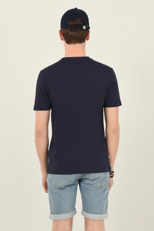 NORDEN Lacivert Bisiklet Yaka Erkek T-shirt - Thumbnail