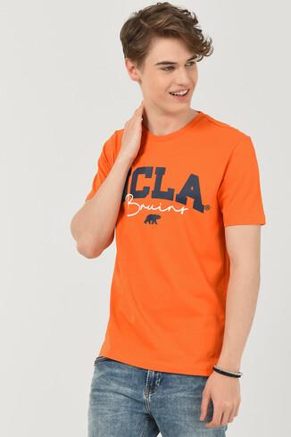 UCLA - RAMONA Turuncu Bisiklet Yaka Erkek T-shirt