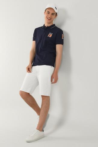 UCLA - REDWAY Lacivert Polo Yaka Erkek T-shirt