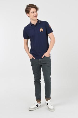 REDWAY Lacivert Polo Yaka Erkek T-shirt - Thumbnail (3)