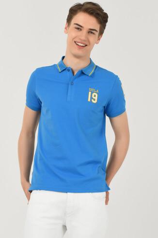 UCLA - REDWAY Mavi Polo Yaka Erkek T-shirt