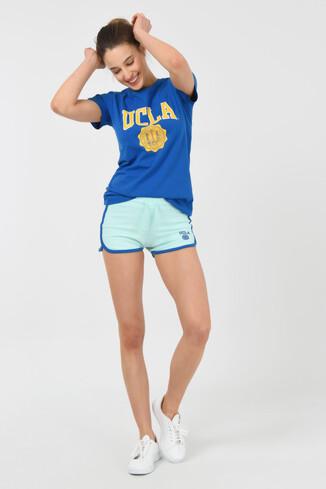 UCLA - RIALTO Mint Kadın Örme Şort (1)