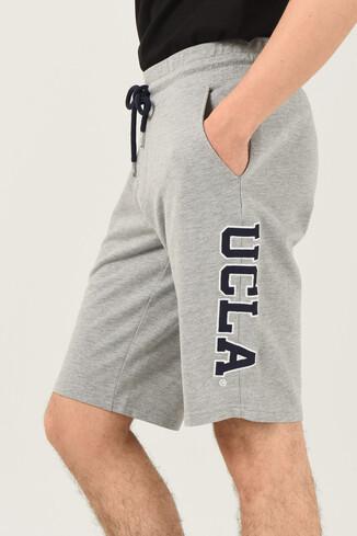UCLA - ROCKLIN Gri Erkek Örme Şort (1)