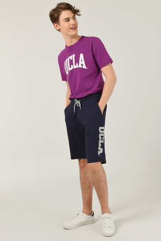 UCLA - ROCKLIN Lacivert Erkek Örme Şort