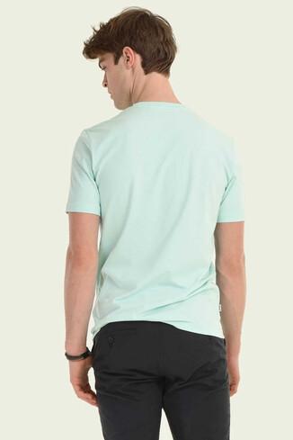 STANTON Mint Bisiklet Yaka Erkek T-shirt - Thumbnail (2)